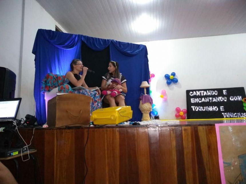 CMEI José Chiarallo realiza recital poético