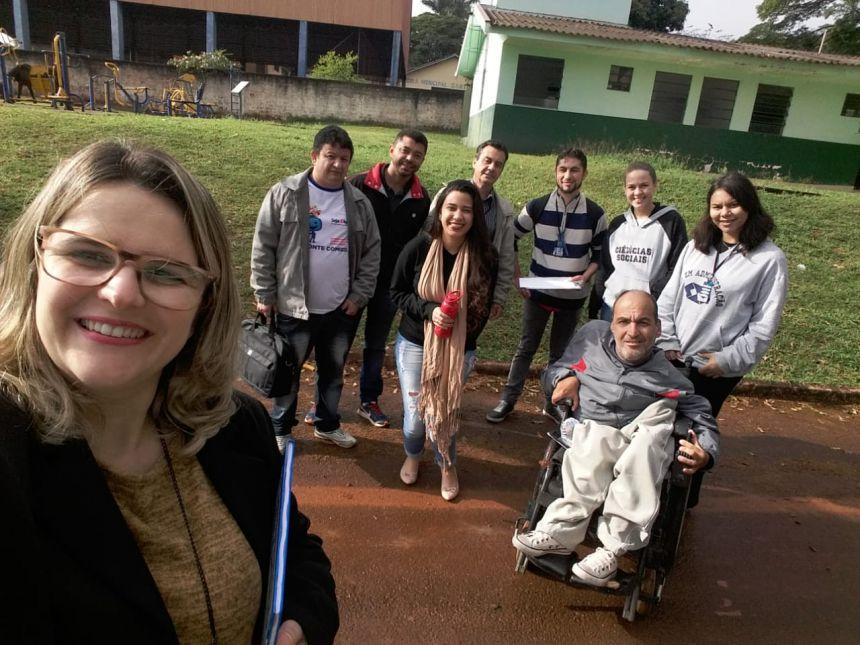 Secretaria Municipal de Assistência Social realizou ação Intersetorial à população Aguaboense