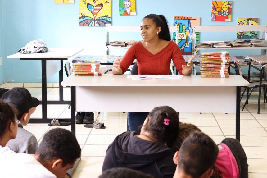 Encontro de conversa sobre a Literatura Negra