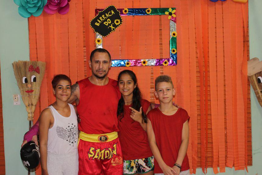 Secretaria de assistência social realiza festa julina para crianças e adolescentes
