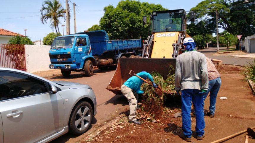 Manutenções no município de Paiçandu e no Distrito de Água Boa