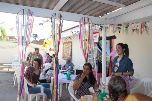 CAPS realizou festa junina interativa com os paciente