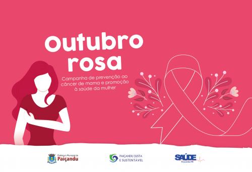 Outubro Rosa, fique atento à campanha!