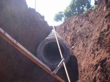 Pavimentação e obras complementares