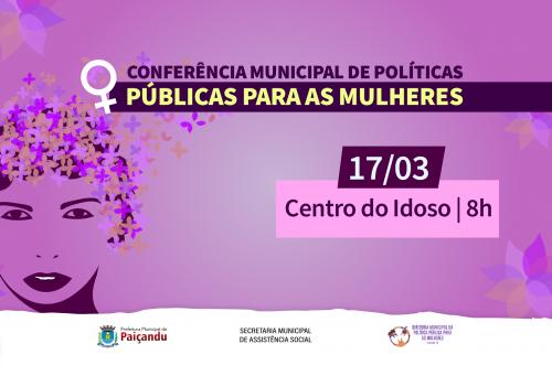 1ª Conferência Municipal de Políticas Públicas para as Mulheres
