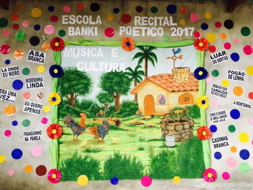 Recital Poético da Escola Padre Angelo Banki emociona o público com música, dança e poesia