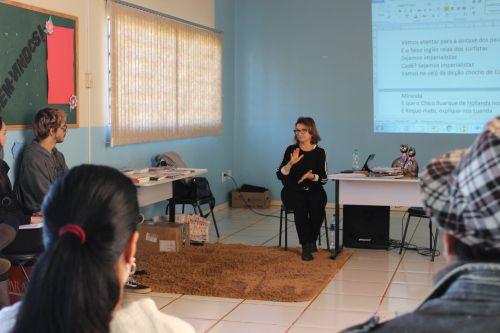 Biblioteca Cidadã promove o encontro: De caso com a palavra