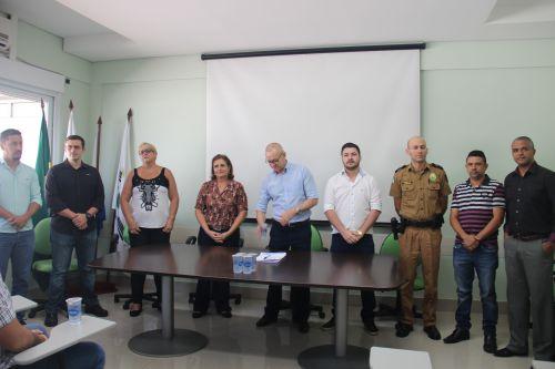 Prefeitura firma convênio com o Conselho Municipal de Segurança de Paiçandu