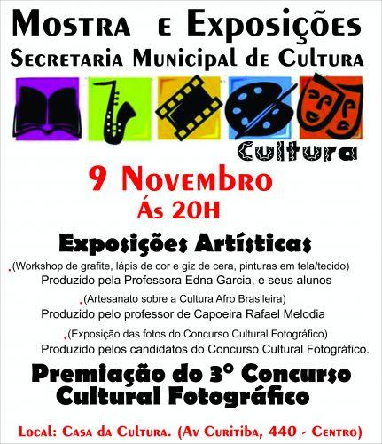 Premiação do 3º Concurso Cultural Fotográfico