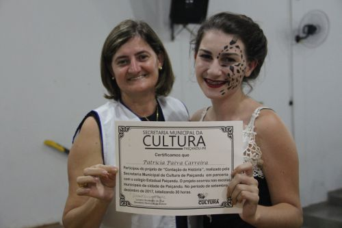 """Casa da Cultura certifica alunos do curso do projeto """"Contação de História"""""""