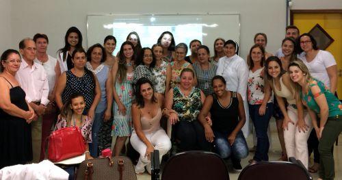 Servidoras da secretaria de assistência social recebem treinamento da Secretaria da Família e Desenvolvimento Social