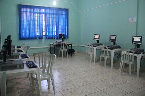Inauguração de Telecentro Espaço Cidadão no Centro do Idoso