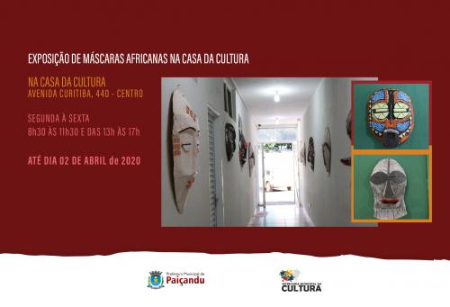 Convite   Exposição de máscaras Africanas até 2 de abril