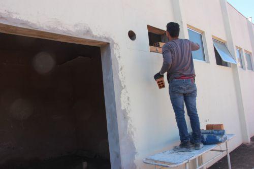 Obras no Pronto Atendimento do São José estão a todo vapor