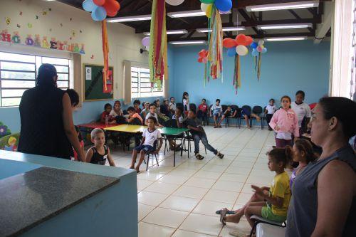 Biblioteca Cidadão Professora Neuza Marty Ceccatto comemora o dia das crianças