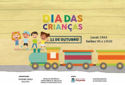 Convite   Comemoração do Dia das Crianças