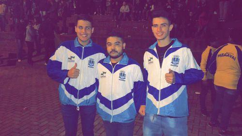 O time de Paiçandu participa da 61ª competição do Jogos Abertos do Paraná em Paraíso do Norte