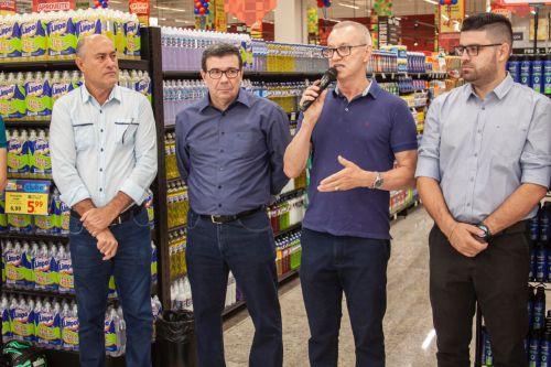 Supermercado Cidade Canção inaugura em Paiçandu