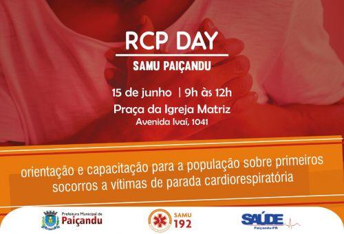 Paiçandu receberá pela primeira vez o RCP Day