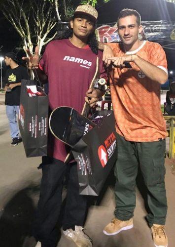Skatista de Paiçandu fica em primeiro lugar em campeonato