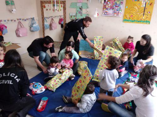 Semana da criança no CMEI José Chiarallo