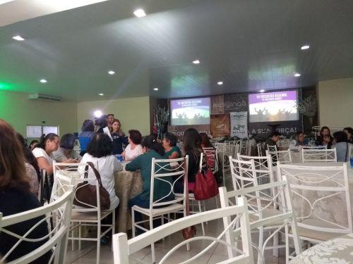 Agricultoras participam do VII Encontro Regional de Mulheres Rurais na ExpoIngá