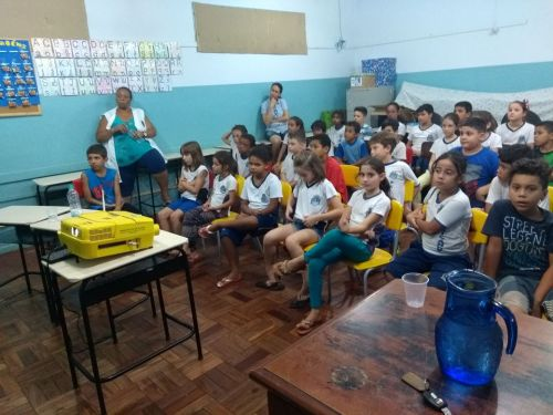 Secretaria de meio ambiente promove palestra em Água Boa