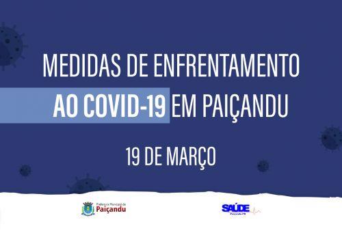 Prefeitura de Paiçandu decreta estado de emergência e fecha comércio