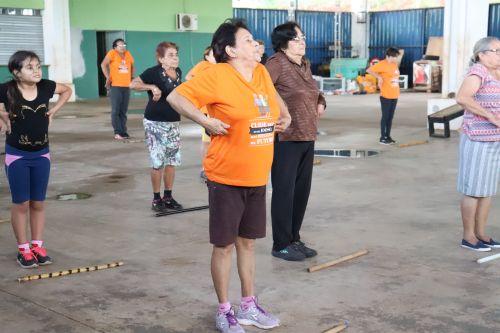 Aulas de Tai Chi Chuan para idosos