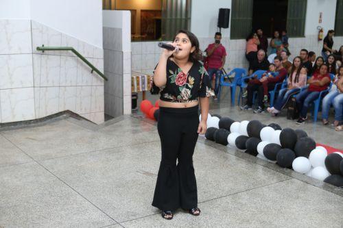 CMEI Francisco Matheus Garcia promoveu um show de talentos
