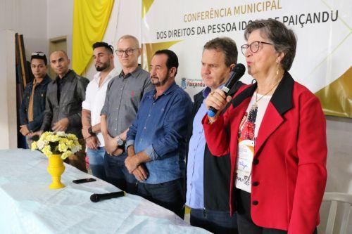 Conferência Municipal dos Direitos da Pessoa idosa de Paiçandu