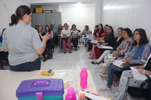 Formação dos Professores das turmas de Apoio Pedagógico