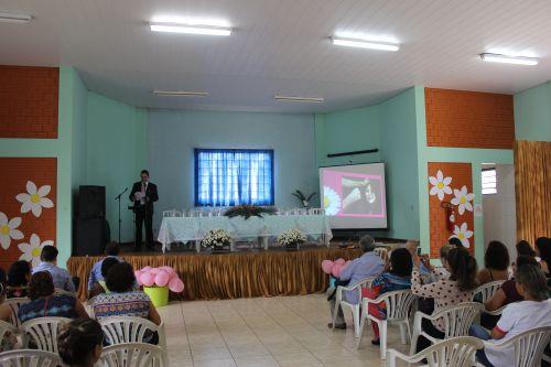 Secretaria de Assistência Social promove palestra no segundo dia da Campanha de combate à violência contra a mulher: Lei Maria da Penha