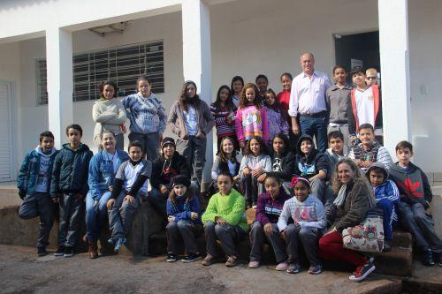 Paço municipal recebe visita dos alunos do 6ºB matutino do Colégio Estadual Princesa Izabel