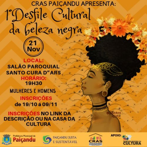 1 Desfile cultural da beleza negra