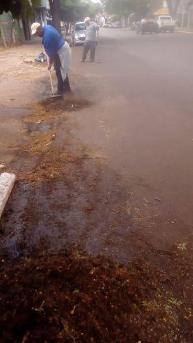 Limpezas e manutenções são realizadas no município