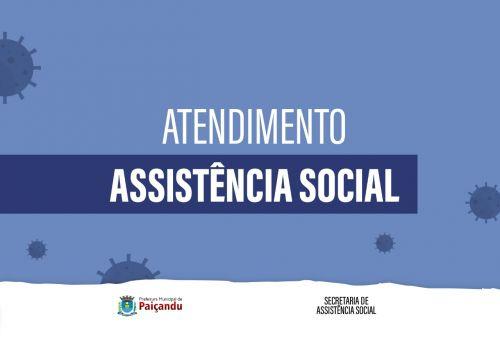 Atendimento da assistência social