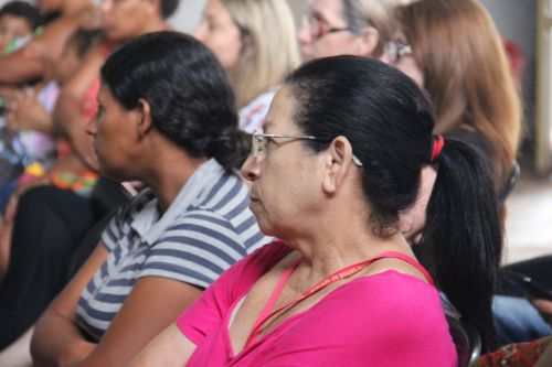 Secretaria de saúde e assistência social realizam palestra sobre Outubro Rosa