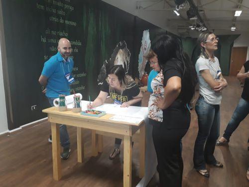Treinamento e desenvolvimento com os servidores do Pronto Atendimento do Hospital São José