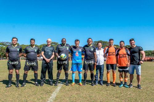 Projeto Dinamus e secretaria de esportes e lazer realizam amistoso solidário
