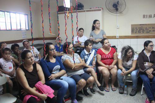Secretaria de saúde realiza palestra no CMEI Anita Cordeiro