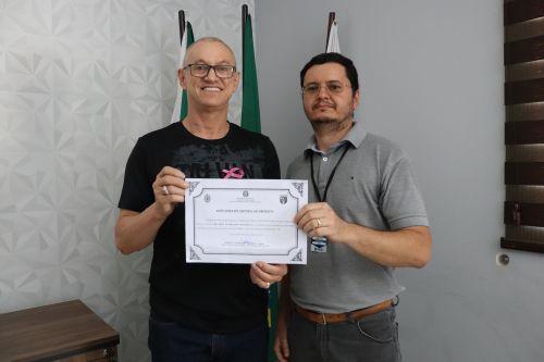 Secretário da Junta recebe Diploma de Honra