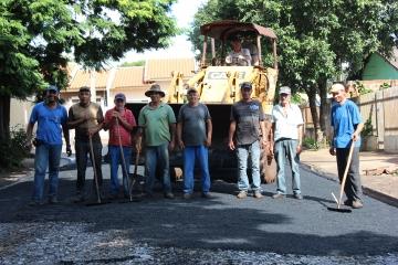Recapeamento Asfáltico Rua Graça Aranha