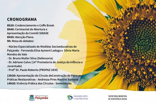 Convite | I Seminário de Práticas Restaurativas e Socioeducação de Paiçandu