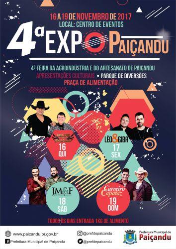 Vem aí a 4ª ExpoPaiçandu!!!