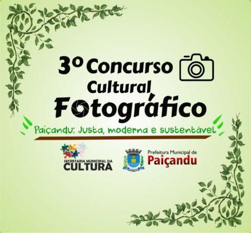 3º Concurso Cultural Fotográfico