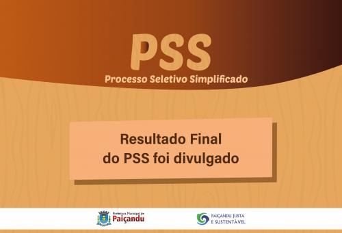 Resultado Final do PSS