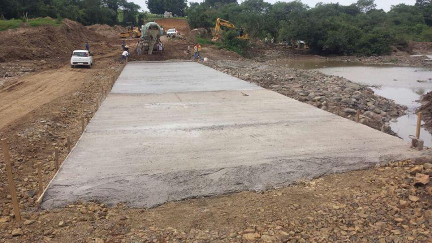 ROSÁRIO DO IVAÍ. Obras da segunda etapa da ponte do rio do peixe segue em andamento...
