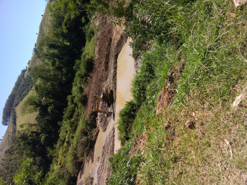 Prefeitura Municipal de Rosário do Ivaí inicia a segunda etapa da ponte do rio do peixe