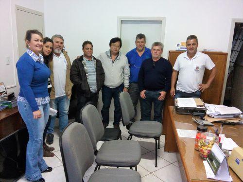Rosário do Ivaí. Prefeito Kuroda recebe visita da 16ª Regional da Saúde de Apucarana